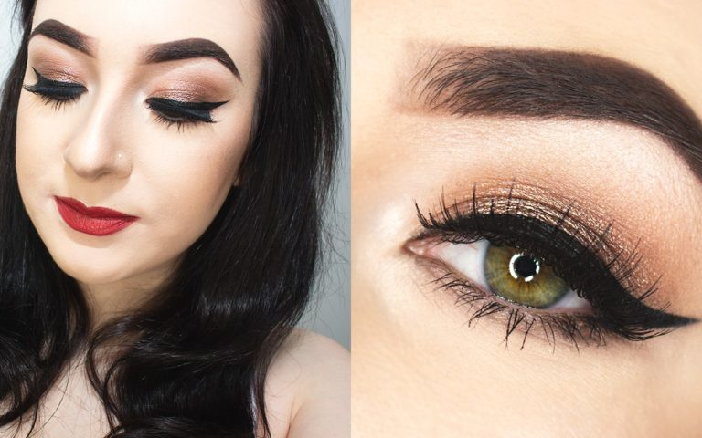 Soft Glitter Party Makeup