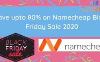 Namecheap Black Friday Offers
