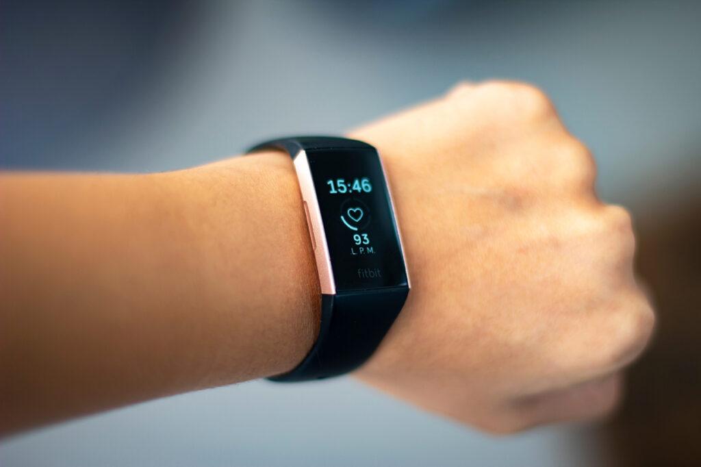 Fitbit wearable watch