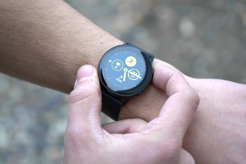 Step wearable watch
