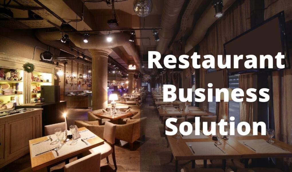 restaurance business solution