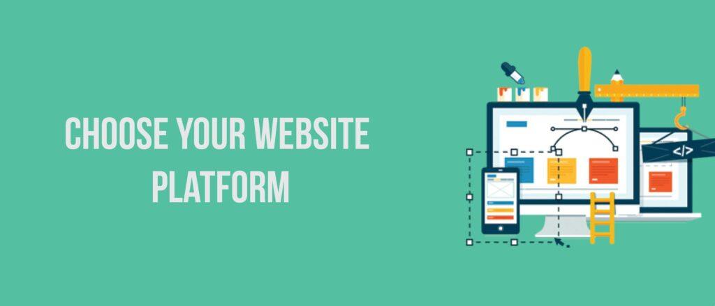 Choose your website platform